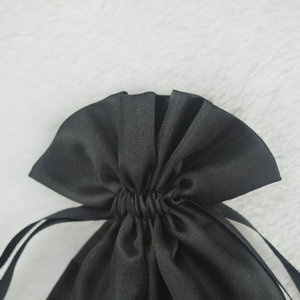 satin bag for hair extension